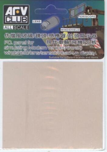 AFV Club AC35201 PC Pannel for simulating Modern