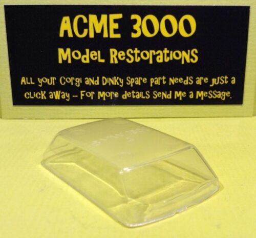 French Dinky 534 BMW 1500 Reproduction Repro Clear Plastic Window Unit
