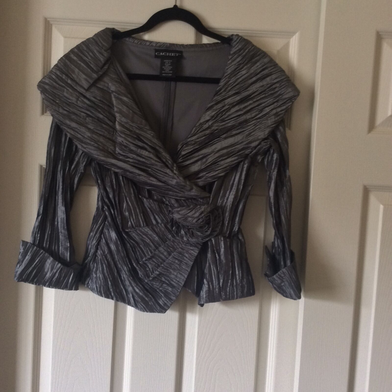 CACHE blouse jacket Größe 6