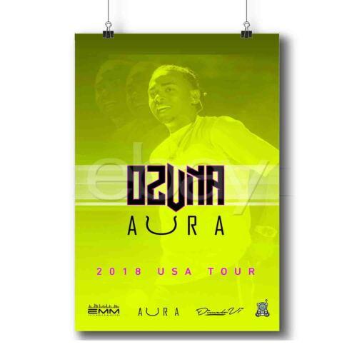 Ozuna Aura Tour Custom Poster Print Art Wall Decor
