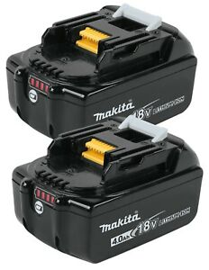 Genuine-Makita-BL1840B-18V-LXT-4-0-AH-LED-Gauge-Battery-100-Authentic-2-Pack