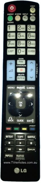 AKB72914031 Genuine Original LG Remote Control 50PX950 60PX950 = AKB74115502 NEW