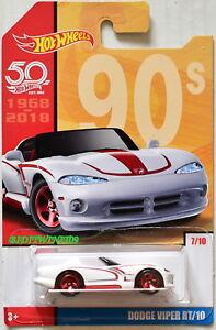 Hot Wheels 50 Years 90s Dodge Viper Rt 10 7 10 654391778644 Ebay