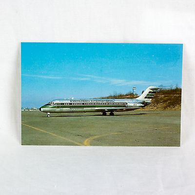 Evergreen International - Dc9 - Aircraft Postcard - Mint Condition