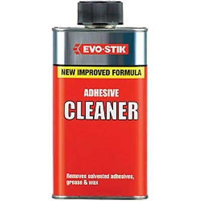 Evo Stik Evo-Stik Adhesive Cleaner 250ml  Removes Solvented Removes grease wax
