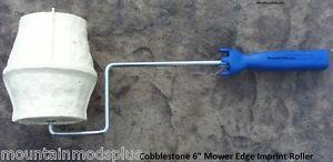 Concrete-Landscape-Curbing-Cobblestone-Mower-Edge-Imprint-texture-Roller-Stamp