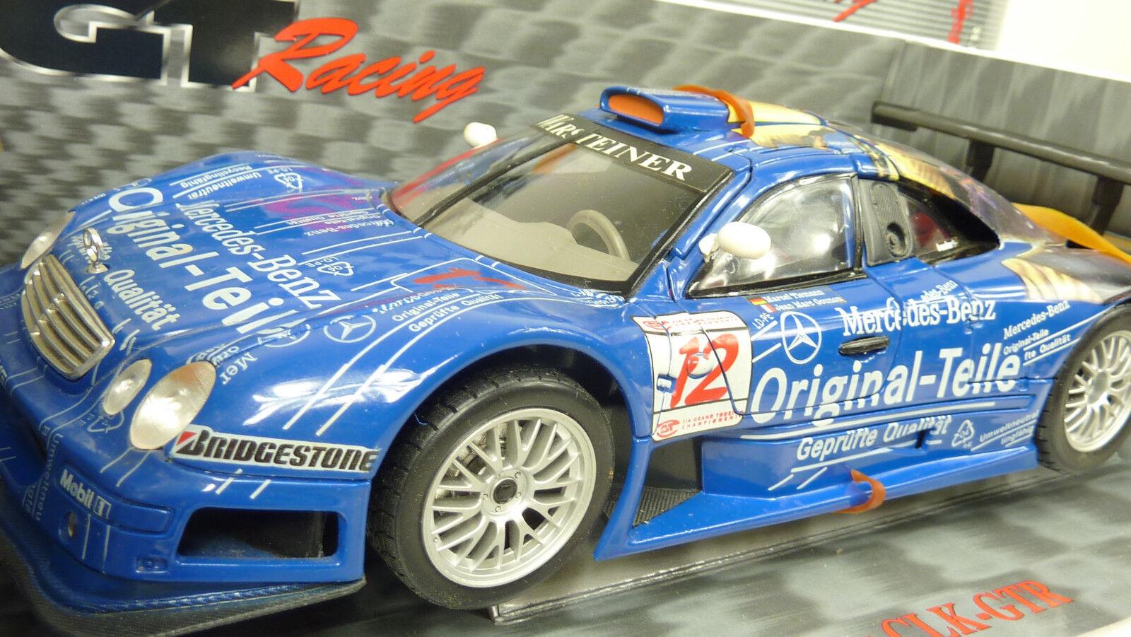 Maisto GTR Racing 1 18 MERCEDES CLK-GTR  12 dans neuf dans sa boîte (a684)