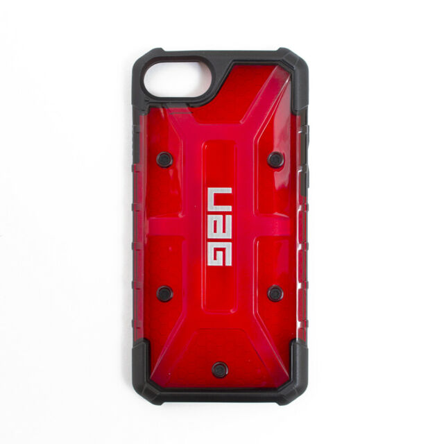 wholesale dealer 1d892 1ab73 UAG Urban Armor Gear Apple iPhone 7 6s Plasma Composite Military Cell Cover  Case Red