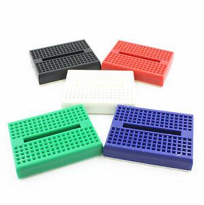10PCS-color-Solderless-Prototype-Breadboard-170-Tie-points-for-Arduino-Shield