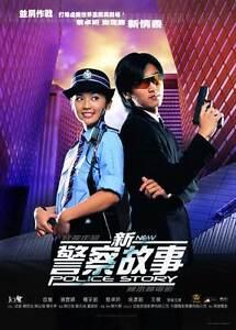 NEW POLICE STORY Movie POSTER 27x40 B Jackie Chan Nicholas ...