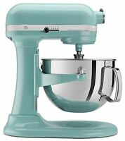 Kitchenaid 600 Super Capacity 6-quart Pro Stand Mixer Kp26m1xaq Aqua Sky Blue