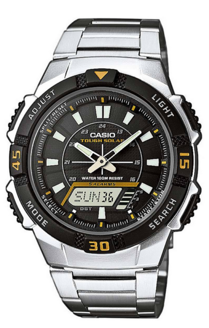 Casio Uhr Herren Solar Armbanduhr AQ-S800WD-1EVEF
