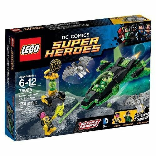 76025 GREEN LANTERN VS. SINESTRO lego legos set NEW DC super heroes batman