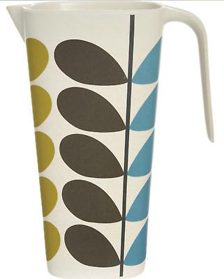 ORLA KIELY Eco Home Travel Bamboo Biodegradable reusable Picnic Side Plate 20cm
