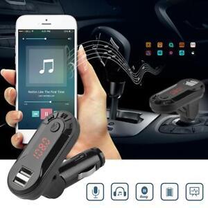 Wireless-Bluetooth-FM-Transmitter-Handsfree-Car-Kit-MP3-Player-USB-Charger-Lot