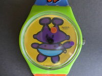 Swatch Montre Bracelet Gent Fille Femme Alien Baby Gg175 Limitee Girl Watch 1997