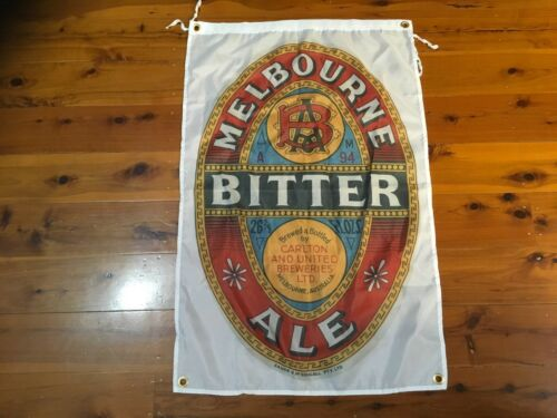 Poster Melbourne bitter man cave flag bar flag man cave bar ware pool room xxxx