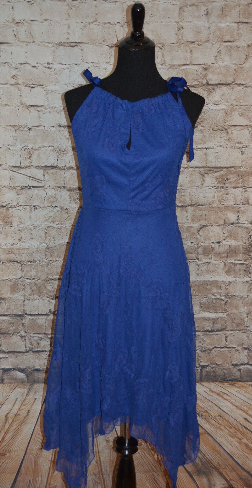 ModCloth Sway the Night Dress NWOT S Coconinno  135 sapphire bluee Gorgeous