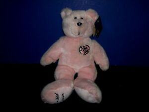 034-I-Love-Lucy-034-Plush-Teddy-Bear-Pink-Limited-Edition-Stuffed-Animalwith-Tag