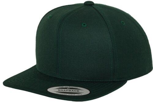 Flexfit By Yupoong The Classic Snapback Peak Cap BaseBall Cap Hat YP001