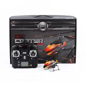 V911-Single-Blade-Outdoor-Indoor-Flying-4-Kanal-Fernbedienung-Helikopter-Prof