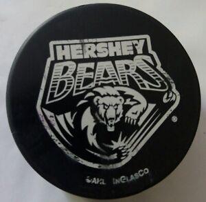HERSHEY-BEARS-AHL-INGLASCO-OFFICIAL-HOCKEY-PUCK-KEN-FAWBER-SPONSOR-SLOVAKIA