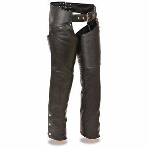 Rationnel Milwaukee Cuir Femme Moto Classique Hip Pocket Leather Chaps ** Sh1173-afficher Le Titre D'origine êTre Hautement Loué Et AppréCié Par Le Public Consommateur