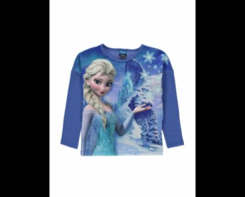 George Disney Frozen Elsa Soft Feel Touch Jumper Top Age 5-6 Years New