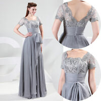 Long Formal Mother Of BRIDE Prom Evening Gown Party Bridesmaid Dresses PLUS SIZE