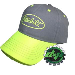 e5e5ac37caf Peterbilt Trucks Hi Vis Visor Safety Hat base ball trucker cap ...