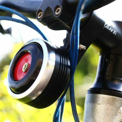 Bicycle Bell Electric Horn With Alarm Remote Control Bike Handlebar Anti-theft
