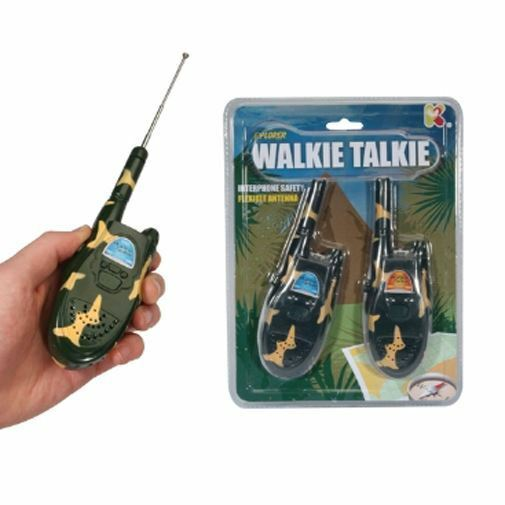 Explorer Walkie Talkies ~ Camouflage Toy Walkie Talkie