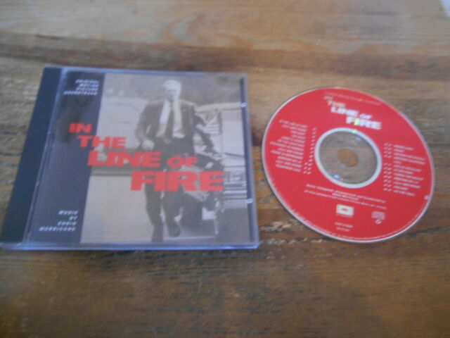 CD OST Ennio Morricone - In The Line Of Fire (23 Song) EPIC SOUNDTRAX US jc