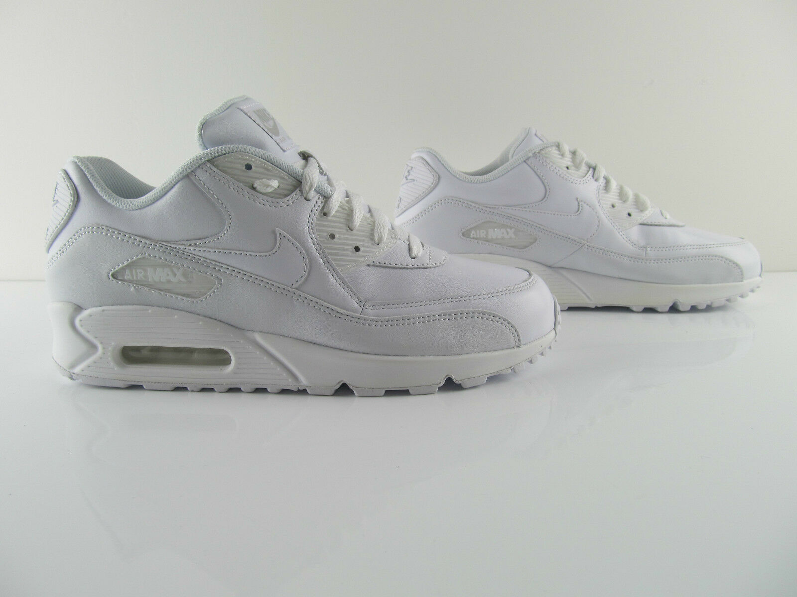 Nike Air Max 90 Essential 87 1 Triple All White UK_9 US_10 Eur 44
