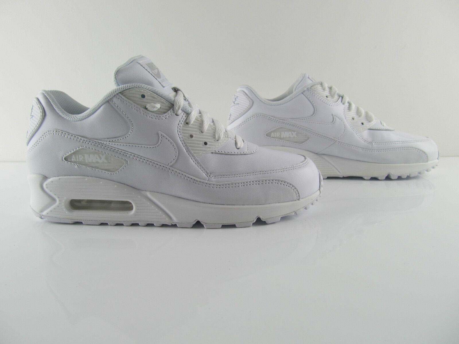 Nike Air Max 90 Essential 87 1 Triple US_10 All White UK_9 US_10 Triple Eur 44 64950d
