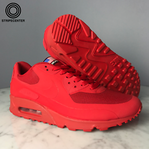 Details about NIKE AIR MAX 90 HYPERFUSE 'INDEPENDENCE DAY' SPORT RED 613841 660