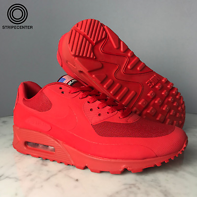 NIKE AIR MAX 90 HYPERFUSE 'INDEPENDENCE DAY' SPORT RED 613841 660 | eBay
