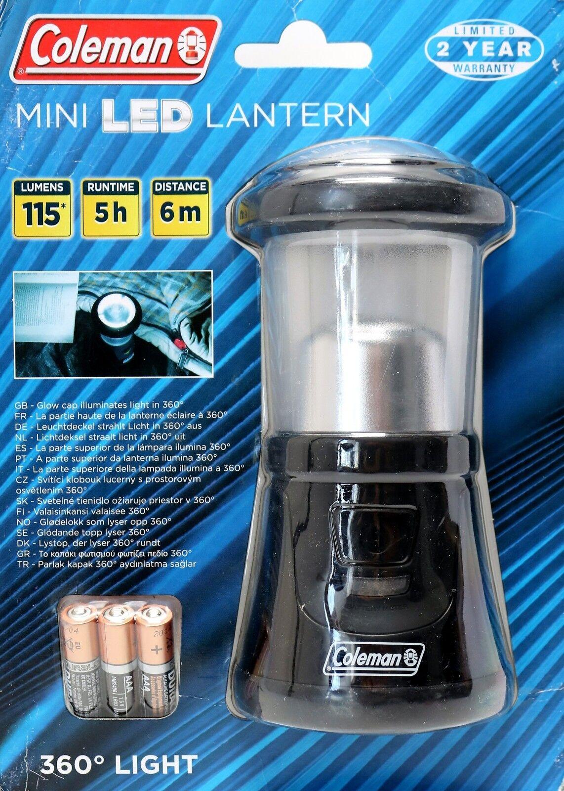 Lanterne Camping Mini Del Lampe Coleman rdCeWxBo
