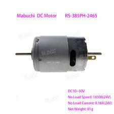 Mabuchi Rs 385ph 2465 Dual Shaft High Torque 12v24v Dc Motor Diy Electric Tools