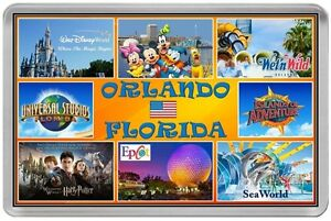ORLANDO-FLORIDA-USA-FRIDGE-MAGNET-DISNEY-WORLD-UNIVERSAL-SEA-WORLD-DFORL
