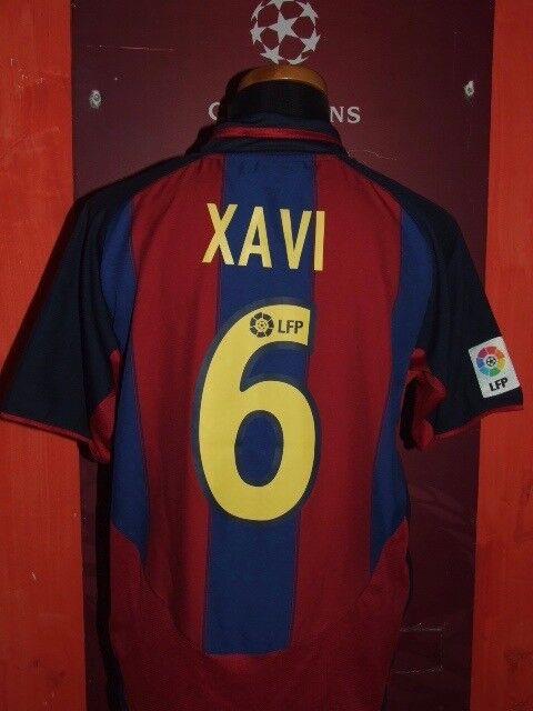 XAVI BARCELONA 20032004 MAGLIA SHIRT CALCIO FOOTBALL MAILLOT JERSEY SOCCER