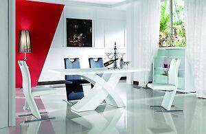 Nolana-Esszimmertisch-160-220cm-Tisch-Hochglanz-Esszimmer-Esstisch-Designertisch
