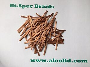 Hi-Spec, 27mm, Braids/Brushes (pack of 100) - SCALEXTRIC SPARES www.alcoltd.co<wbr/>m
