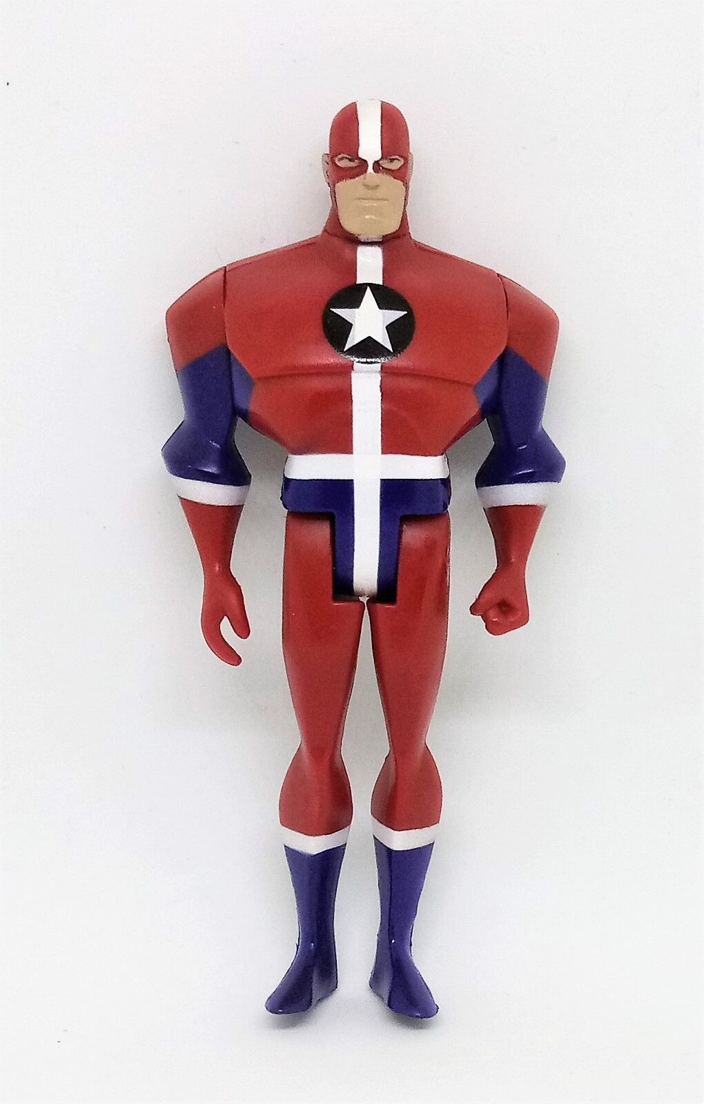 Justice League Unlimited Commander Steel XHTF