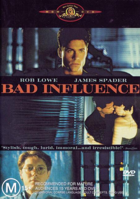 BAD INFLUENCE Rob Lowe DVD R4 New