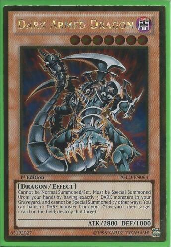 DARK ARMED DRAGON ULTRA RARE PGLD-EN064 NEAR MINT YUGIOH