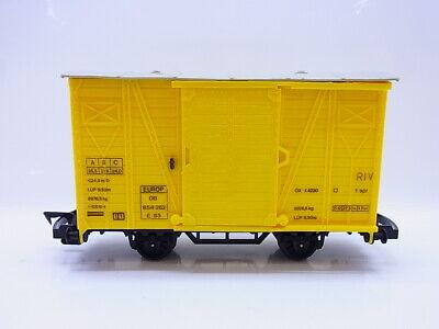 58175 Faller E-train Traccia 0 Festa Carri Merci 854 262 Delle Db Giallo Carreggiata Stretta-mostra Il Titolo Originale Calcolo Attento E Bilancio Rigoroso