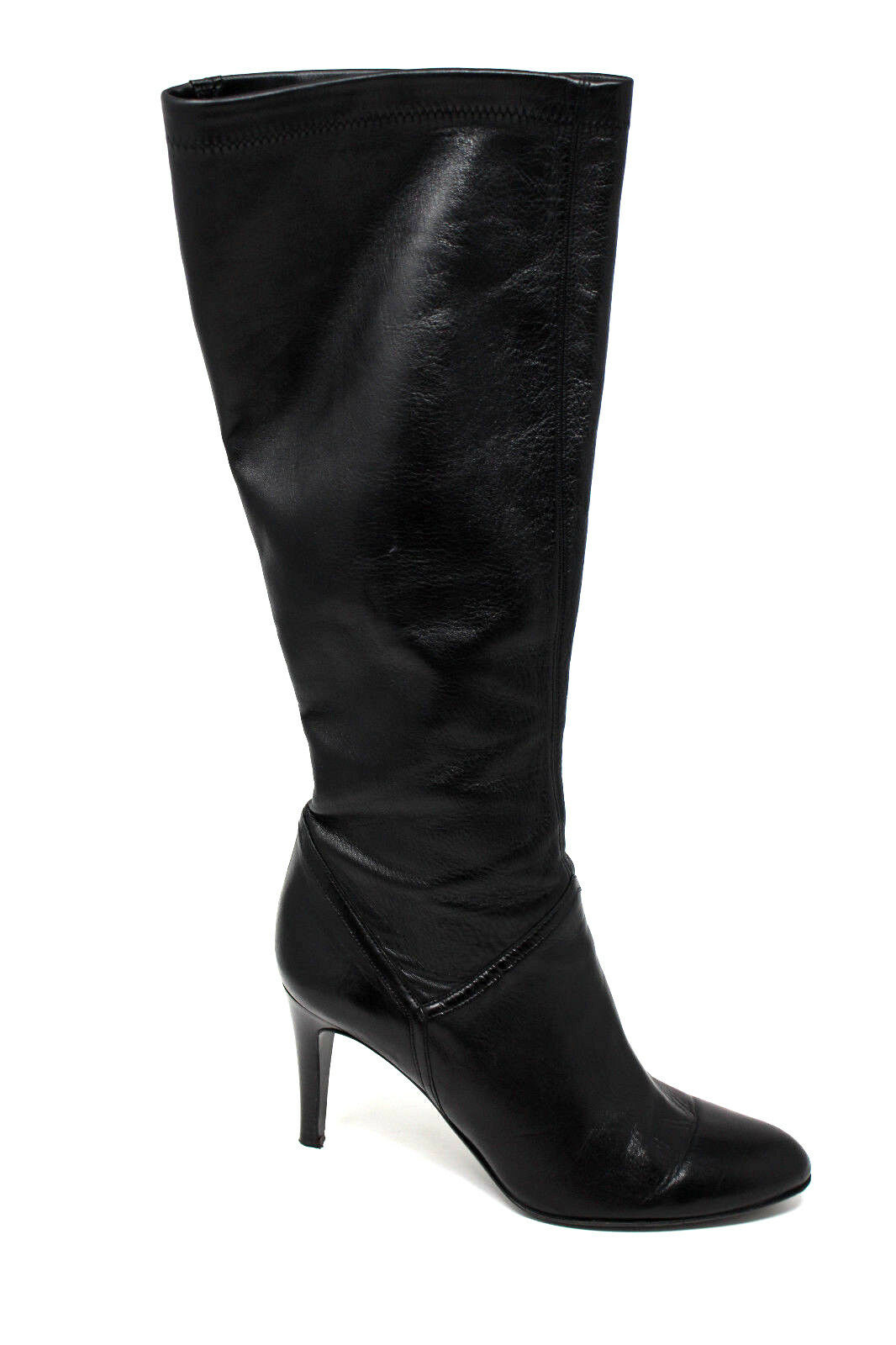 ab41de8bf48 Cole Haan Black Leather Womens Knee High Heel BOOTS Size 10 B for ...