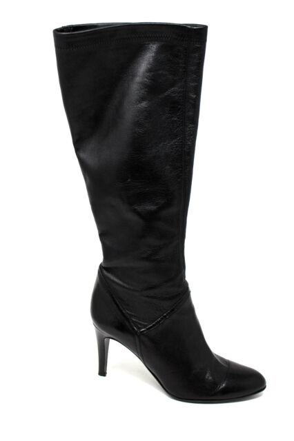 3f8f732e4fb Cole Haan Knee High Black Leather 3.5