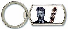 David Bowie Image Metal Keyring Free Postage